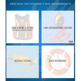 Zestaw ratownictwa wodnego II - Zestawy ratownictwa wodnego KSRG