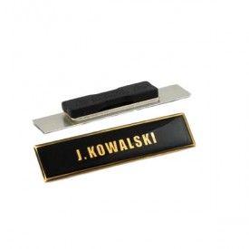 Wyjściowy identyfikator imienny PSP polimerowy na magnes