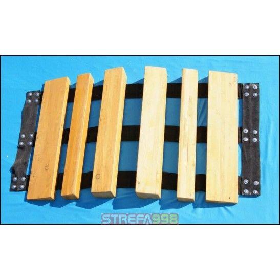 Mostek 52/75/110/75/52  (drewniany) -  Mostki przejazdowe