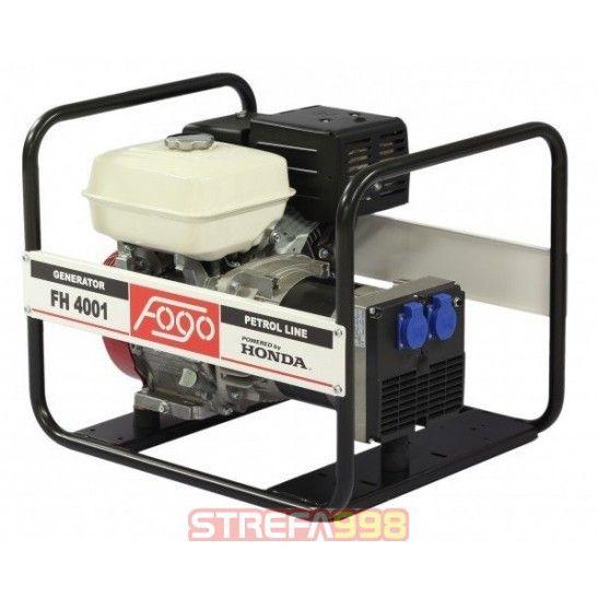 Agregat prądotwórczy FOGO FH4001 3,8kW - 1-fazowe