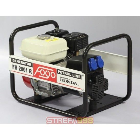 Agregat prądotwórczy FOGO F3001R 2,5kW