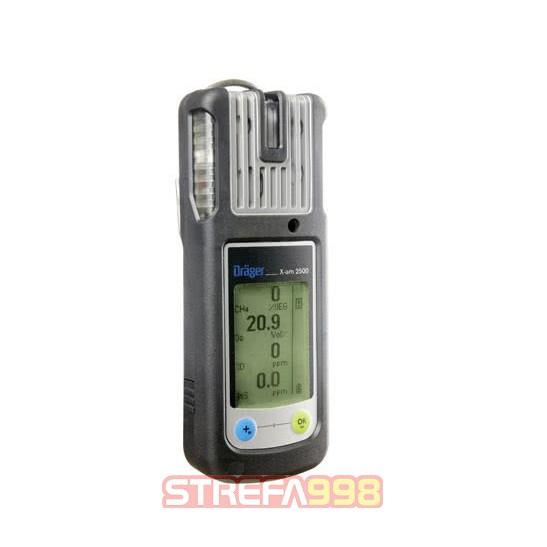 Dräger X-am® 2500 Ex, O2, CO-LC, H2S-LC