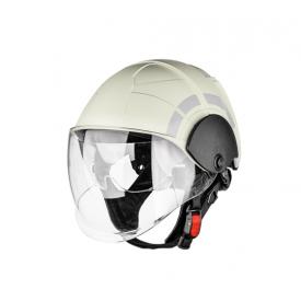 Hełm PAB Fire Compact biały/czerwony