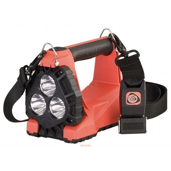 Ładowalna latarka strażacka z obrotową głowicą, 1200 lm, VULCAN 180