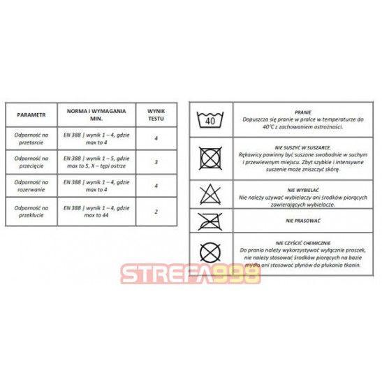 Rękawice do ratownictwa technicznego CESTUS DEEP III PRO -  Rękawice techniczne