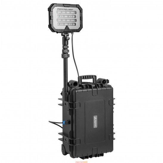 Mactronic Floodlight Single 18000 lm / 50Ah. Przenośny system oświetleniowy o dużej mocy.