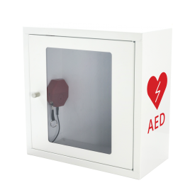 Szafka na AED ASB1010 biała z alarmem dźwiękowym -  Szafki do AED