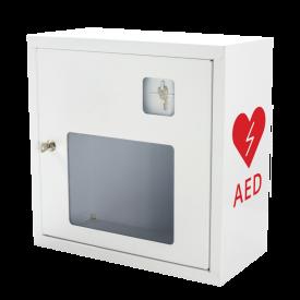 Szafka na AED ASB1001 biała -  Szafki do AED