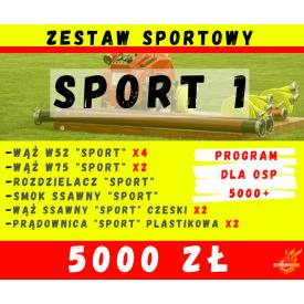 Zestaw SPORT 1 - Program 5000+ czyli 5000zł dla OSP