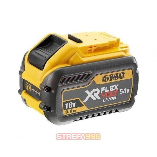 DEWALT AKUMULATOR FLEXVOLT 18/54V 9,0/3,0Ah -  Narzędzia akumulatorowe