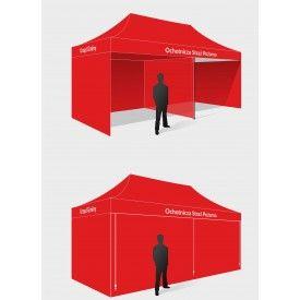 Namiot ekspresowy 3x6 m -  Zarządzanie kryzysowe