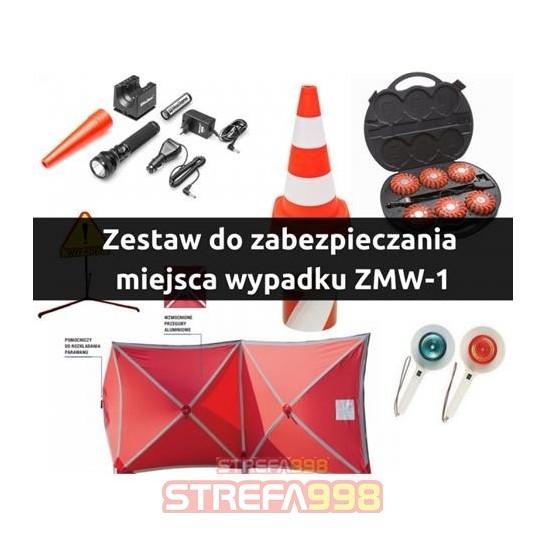 Zestaw do zabezpieczania miejsca wypadku ZMW - 1 -  Ratownictwo techniczne