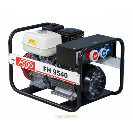 Agregat prądotwórczy FOGO FH 9540 -  3-fazowe