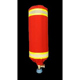 Pokrowiec na butlę kompozytową - czerwony - Akcesoria do aparatów