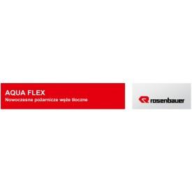 Wąż tłoczny W42/20 AQUA FLEX ROSENBAUER (biały) -  Węże tłoczne ROSENBAUER
