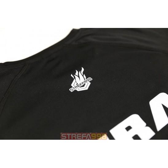 Koszulka FW SPORT - czarna STRAŻ -  Odzież