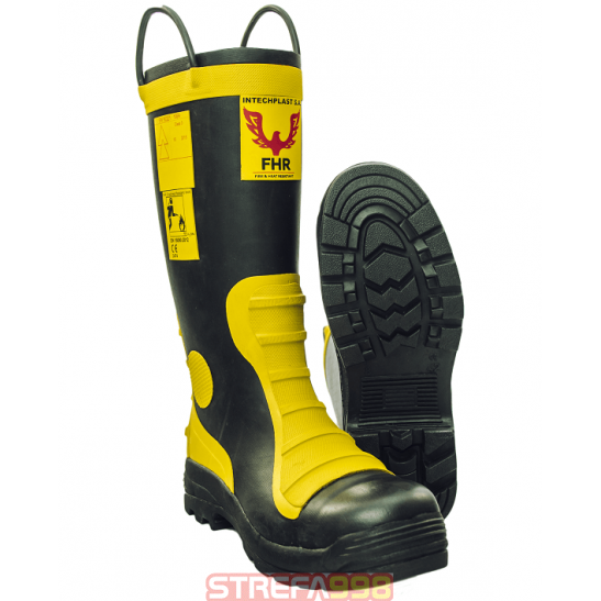 Buty Gumowe FHR004 BRANDBULL -  Buty strażackie