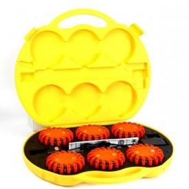 Flary ostrzegawcze pomarańczowe - zestaw